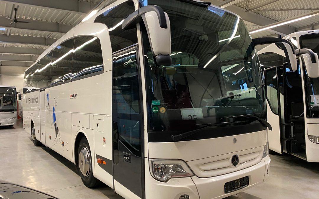MB O 580 15 RHD Travego Safety Coach
